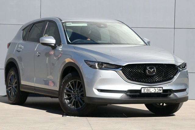 Demo Mazda CX-5 KF4WLA Touring SKYACTIV-Drive i-ACTIV AWD, 2019 Mazda CX-5 KF4WLA Touring SKYACTIV-Drive i-ACTIV AWD Sonic Silver 6 Speed Sports Automatic