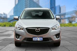 2013 Mazda CX-5 KE1031 MY13 Maxx SKYACTIV-Drive AWD Sport Silver 6 Speed Sports Automatic Wagon