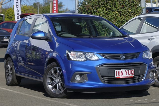 Used Holden Barina TM MY17 LS, 2016 Holden Barina TM MY17 LS Blue 5 Speed Manual Hatchback