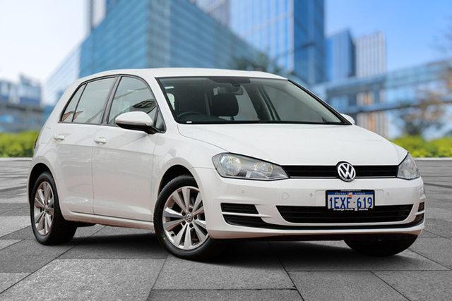 Used Volkswagen Golf VII MY14 90TSI DSG Comfortline, 2014 Volkswagen Golf VII MY14 90TSI DSG Comfortline White 7 Speed Sports Automatic Dual Clutch