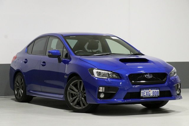 Used Subaru WRX MY16 Premium (AWD), 2015 Subaru WRX MY16 Premium (AWD) Blue 8 Speed CVT Auto 8 Speed Sedan