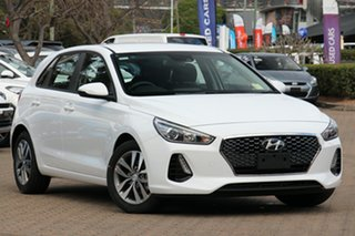 2020 Hyundai i30 PD2 MY20 Active SmartSense Polar White 6 Speed Automatic Hatchback.