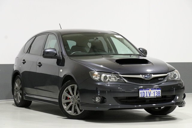 Used Subaru Impreza MY10 WRX (AWD), 2010 Subaru Impreza MY10 WRX (AWD) Grey 5 Speed Manual Hatchback