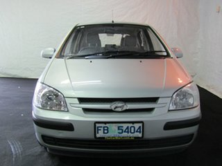 2004 Hyundai Getz TB MY04 GL Clean Silver 5 Speed Manual Hatchback.