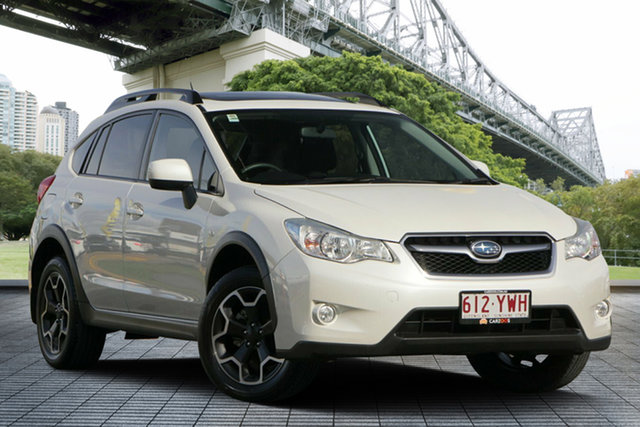 Used Subaru XV G4X MY13 2.0i-L Lineartronic AWD, 2012 Subaru XV G4X MY13 2.0i-L Lineartronic AWD White 6 Speed Constant Variable Wagon