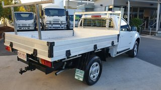 Holden Colorado RG MY14 LX 4x2 White 6 speed Manual Cab Chassis.