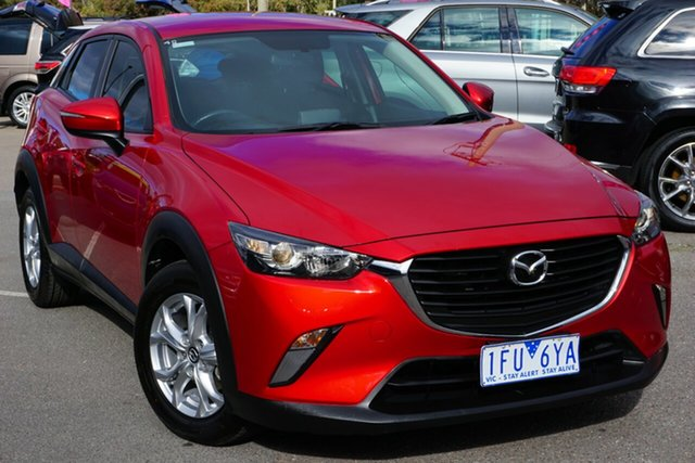 Used Mazda CX-3 DK2W7A Maxx SKYACTIV-Drive, 2015 Mazda CX-3 DK2W7A Maxx SKYACTIV-Drive Red 6 Speed Sports Automatic Wagon