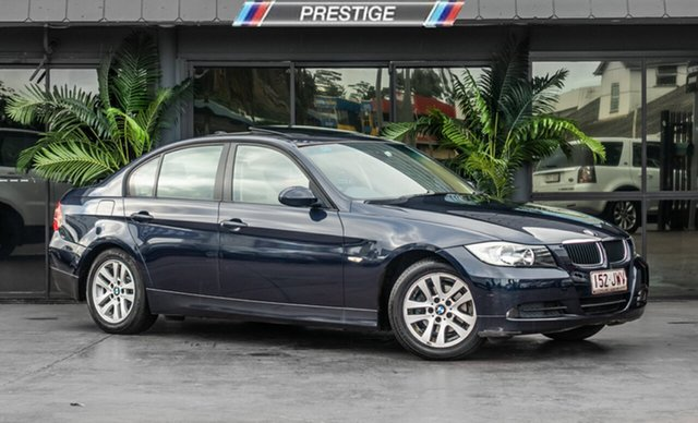 Used BMW 320i E90 Steptronic, 2006 BMW 320i E90 Steptronic Blue 6 Speed Automatic Sedan