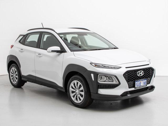 Demo Hyundai Kona OS.2 MY19 GO (FWD), 2019 Hyundai Kona OS.2 MY19 GO (FWD) Chalk White 6 Speed Automatic Wagon