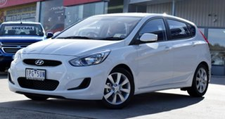2019 Hyundai Accent RB6 MY18 Sport Chalk White 6 Speed Sports Automatic Hatchback