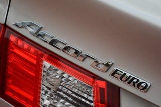 2009 Honda Accord Euro CU MY10 Buran Silver 5 Speed Automatic Sedan