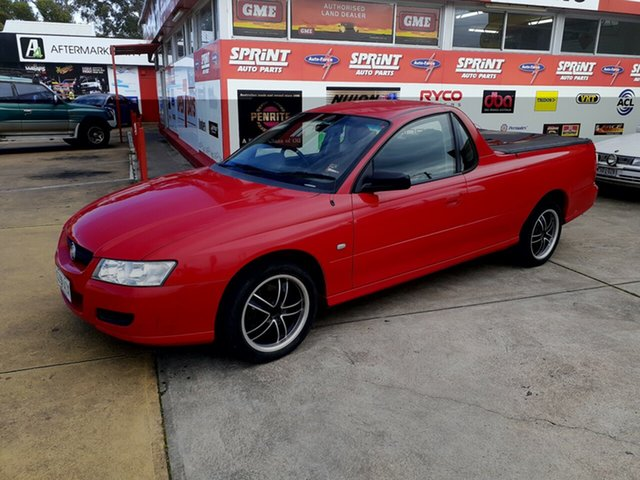 Used Holden Ute VZ MY06 , 2006 Holden Ute VZ MY06 Red 4 Speed Automatic Utility