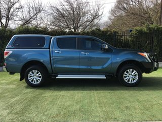 2012 Mazda BT-50 UP0YF1 GT Blue 6 Speed Sports Automatic Utility