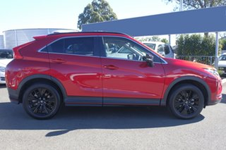 2018 Mitsubishi Eclipse Cross YA MY19 Black Edition 2WD Red Diamond 8 Speed Constant Variable Wagon.