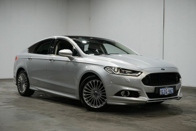 Used Ford Mondeo MD Titanium PwrShift, 2016 Ford Mondeo MD Titanium PwrShift Silver 6 Speed Sports Automatic Dual Clutch Hatchback
