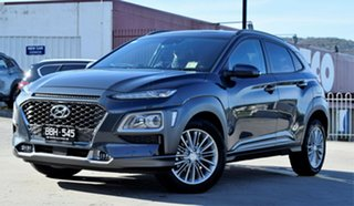 2019 Hyundai Kona OS.2 MY19 Elite 2WD Dark Knight 6 Speed Sports Automatic Wagon
