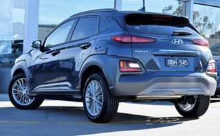 2019 Hyundai Kona OS.2 MY19 Elite 2WD Dark Knight 6 Speed Sports Automatic Wagon.