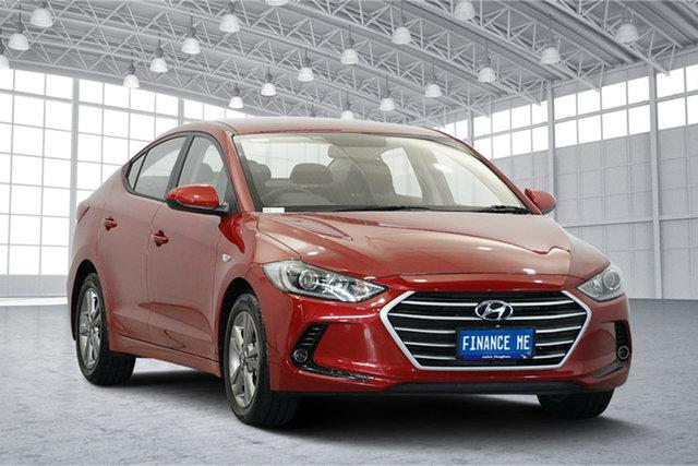 Used Hyundai Elantra AD.2 MY19 Active, 2019 Hyundai Elantra AD.2 MY19 Active Firey Red 6 Speed Sports Automatic Sedan
