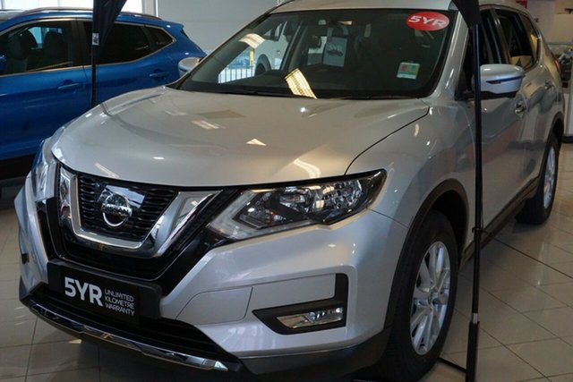 New Nissan X-Trail T32 Series II ST-L X-tronic 4WD, 2018 Nissan X-Trail T32 Series II ST-L X-tronic 4WD Brilliant Silver 7 Speed Constant Variable Wagon