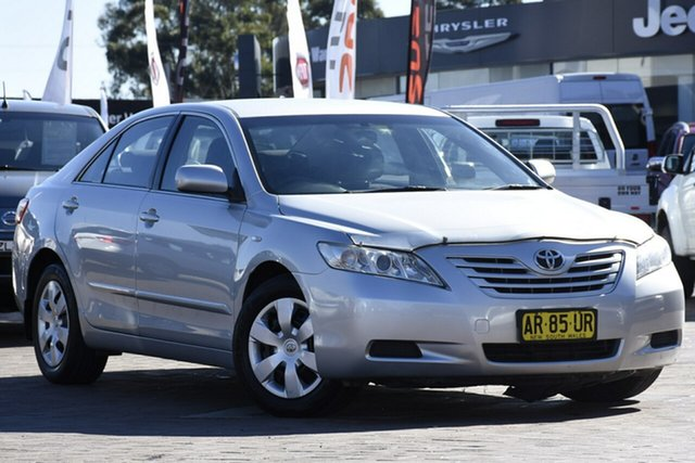 Used Toyota Camry ACV40R Altise, 2007 Toyota Camry ACV40R Altise Silver Spoon 5 Speed Automatic Sedan