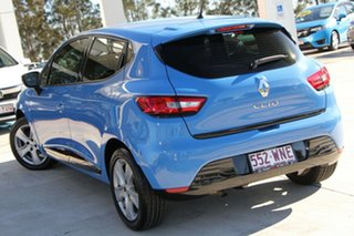 2016 Renault Clio IV B98 Expression EDC Blue 6 Speed Sports Automatic Dual Clutch Hatchback.