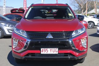2018 Mitsubishi Eclipse Cross YA MY19 Black Edition 2WD Red Diamond 8 Speed Constant Variable Wagon