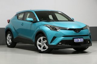 2018 Toyota C-HR NGX10R Update (2WD) Blue Continuous Variable Wagon.