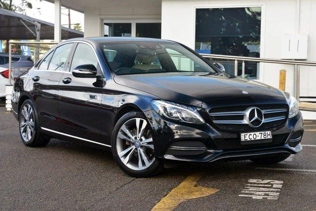 Used Mercedes-Benz C200 W204 MY14 Elegance 7G-Tronic +, 2014 Mercedes-Benz C200 W204 MY14 Elegance 7G-Tronic + Black 7 Speed Sports Automatic Sedan