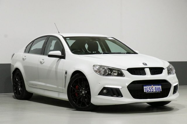 Used Holden Special Vehicles ClubSport Gen F R8, 2013 Holden Special Vehicles ClubSport Gen F R8 White 6 Speed Auto Active Sequential Sedan