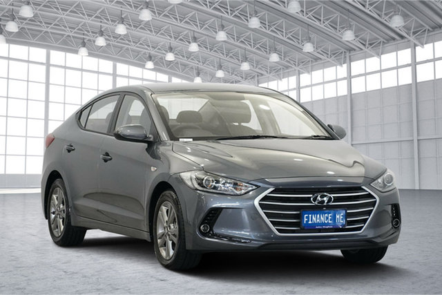 Used Hyundai Elantra AD MY18 Active, 2018 Hyundai Elantra AD MY18 Active Iron Gray 6 Speed Sports Automatic Sedan