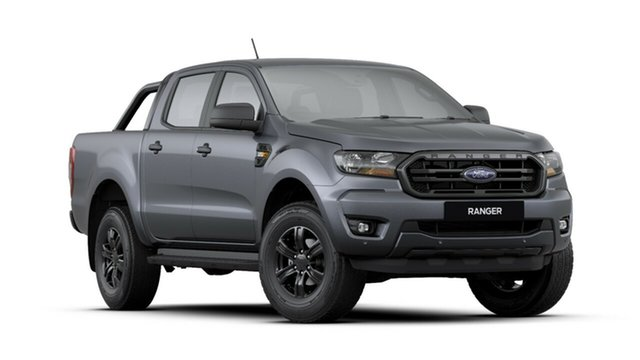 New Ford Ranger PX MkIII 2019.75MY Sport Pick-up Double Cab, 2019 Ford Ranger PX MkIII 2019.75MY Sport Pick-up Double Cab Meteor Grey 6 Speed Sports Automatic