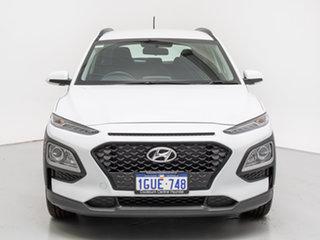 2019 Hyundai Kona OS.2 MY19 GO (FWD) Chalk White 6 Speed Automatic Wagon.
