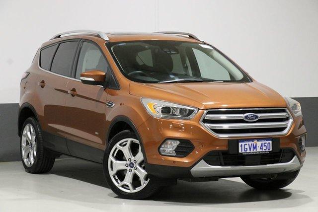 Used Ford Escape ZG Titanium (AWD), 2017 Ford Escape ZG Titanium (AWD) Orange 6 Speed Automatic Wagon