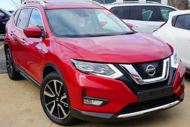 New Nissan X-Trail T32 Series II Ti X-tronic 4WD, 2018 Nissan X-Trail T32 Series II Ti X-tronic 4WD Ruby Red 7 Speed Constant Variable Wagon