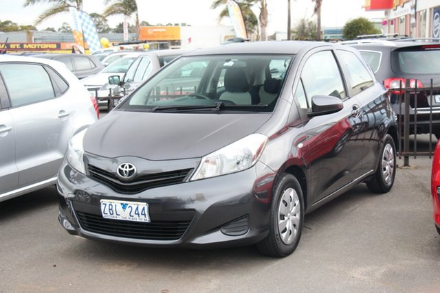 Used Toyota Yaris NCP130R YR, 2012 Toyota Yaris NCP130R YR Grey 4 Speed Automatic Hatchback