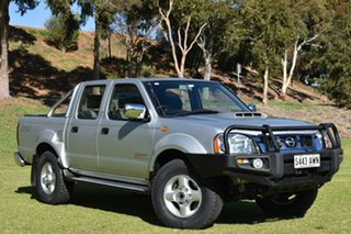 2013 Nissan Navara D22 S5 ST-R Silver 5 Speed Manual Utility.
