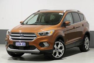 2017 Ford Escape ZG Titanium (AWD) Orange 6 Speed Automatic Wagon.