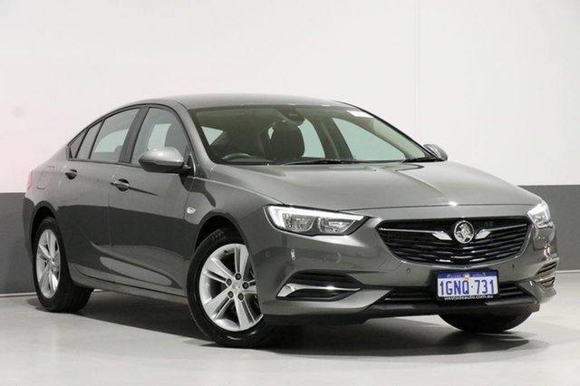 Used Holden Commodore ZB LT, 2018 Holden Commodore ZB LT Grey 8 Speed Automatic Liftback