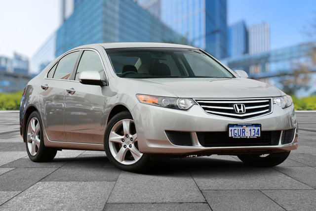 Used Honda Accord Euro CU MY10 , 2009 Honda Accord Euro CU MY10 Buran Silver 5 Speed Automatic Sedan