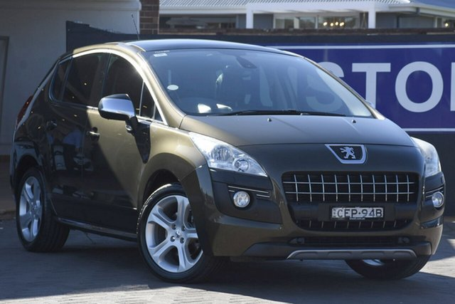 Used Peugeot 3008 T8 XTE SUV, 2011 Peugeot 3008 T8 XTE SUV Brown 6 Speed Sports Automatic SUV