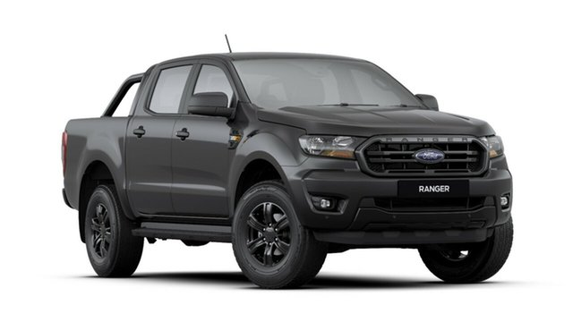 New Ford Ranger PX MkIII 2019.75MY Sport Pick-up Double Cab, 2019 Ford Ranger PX MkIII 2019.75MY Sport Pick-up Double Cab Shadow Black 6 Speed Sports Automatic