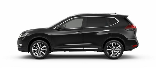 New Nissan X-Trail T32 Series II Ti X-tronic 4WD, 2019 Nissan X-Trail T32 Series II Ti X-tronic 4WD Diamond Black 7 Speed Constant Variable Wagon