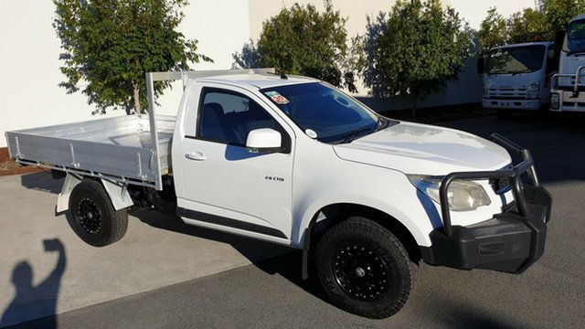 Used Holden Colorado RG MY13 LX, 2012 Holden Colorado RG MY13 LX White 6 Speed Sports Automatic Cab Chassis