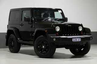 2013 Jeep Wrangler JK MY13 Overland (4x4) Black 5 Speed Automatic Hardtop.