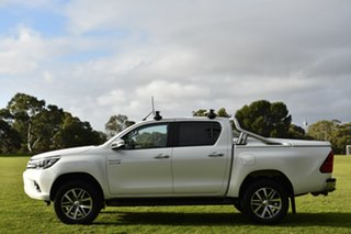 2015 Toyota Hilux GUN126R SR5 Double Cab Pearl White 6 Speed Sports Automatic Utility