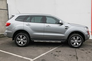 2016 Ford Everest UA Titanium 4WD Silver 6 Speed Sports Automatic Wagon.