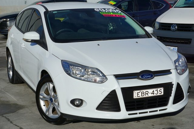 Used Ford Focus LW MkII Trend, 2014 Ford Focus LW MkII Trend White 5 Speed Manual Hatchback