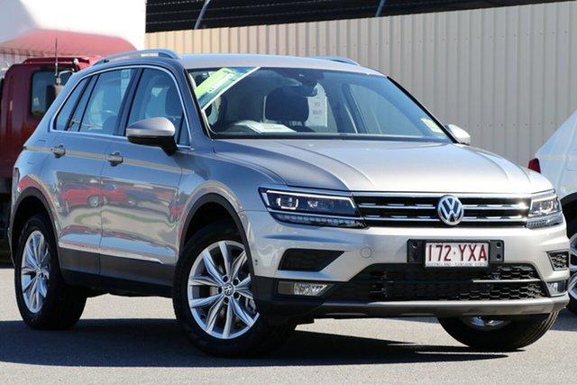 Demo Volkswagen Tiguan 5N MY19 132TSI DSG 4MOTION Comfortline, 2018 Volkswagen Tiguan 5N MY19 132TSI DSG 4MOTION Comfortline Tungsten Silver 7 Speed