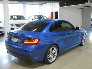 2017 BMW 2 Series F22 LCI 220i M Sport Estoril Blue 8 Speed Sports Automatic Coupe