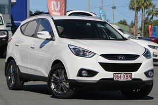 2014 Hyundai ix35 LM3 MY15 SE White 6 Speed Sports Automatic Wagon.